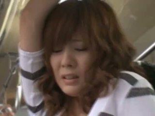 Stranger putting hands under girls mini rok