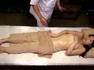 японски, voyeur, масаж