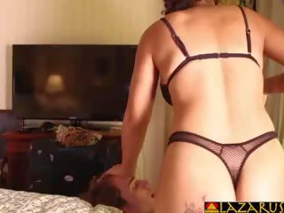 Latina Step Mom Dominates Teen Son with Her Ass: HD Porn 3a