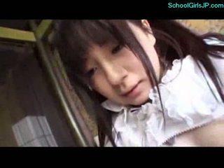 student, mladý, japonec