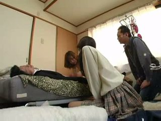 gruppesex, japanese, pussyfucking