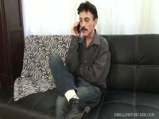 brunetă, hardcore sex, lovitură de locuri de muncă