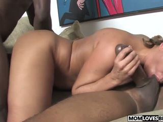 Honey White Takes Three Bbcs in Front of Her Son: Porn 8b