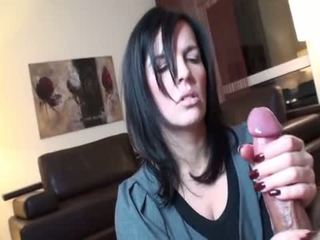Blow And Handjob slow - A Cumshot Compilation