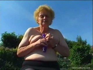 ハードコアセックス, 男大きなペニス性交, おばあちゃん
