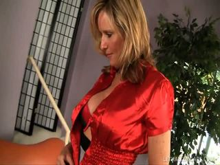 Jodi west requires the large jock in her