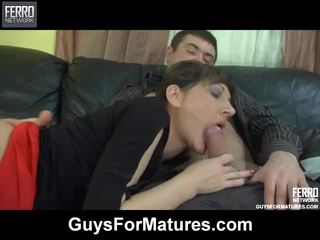 Awesome Guys For Matures Movie With Amazing Porn Stars Bobbie, Linda, Danil