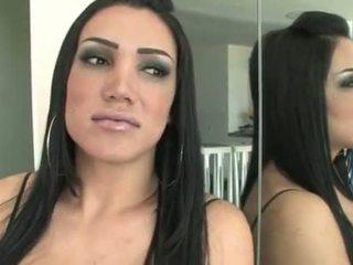 True shemale idol having penis sucked