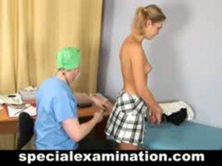 מכללה בייב gets gyno examination