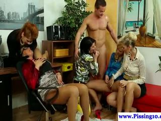 group sex, pissing, pee