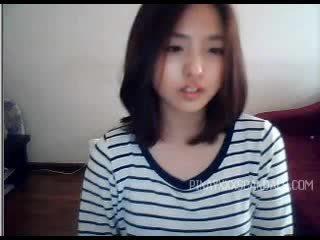webcam, l'adolescence, asiatique