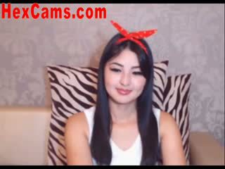 حار الآسيوية كاميرا ويب فتاة mini تنورة 2