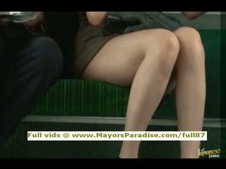 Rio innocent chinez fata este inpulit pe the autobus