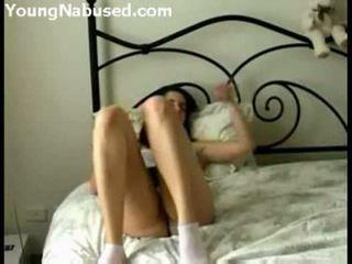 Slaapkamer masturbation