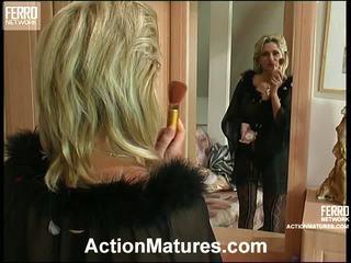 Agatha rolf leggy māte uz darbība
