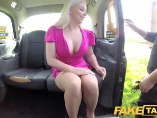 Fake taxi karstās televīzija personality takes tas grūti uz london cab