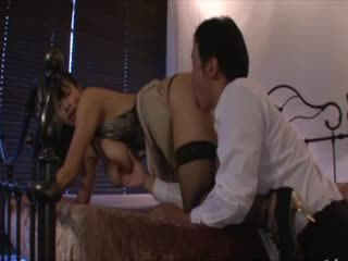 Classy asian big tit slut bangs her date of the evening
