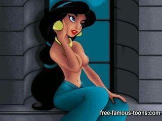 Aladdin et jasmine porno parodie