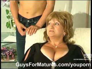 големи цици, немски, майки и boys