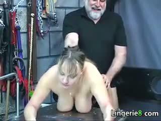 Big Slave In Lingerie