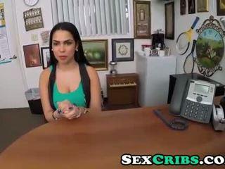 Lezbiyen genç nymph ada sanchez casts için olmak bir star