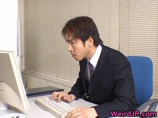 mann großen schwanz ficken, japanisch, chef