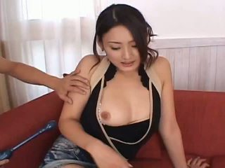 Risa aianlovely azjatyckie lalka gets cipka teased
