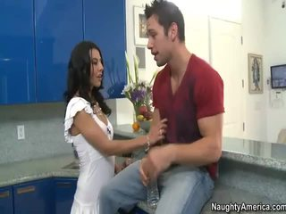 French Teen Lou Charmelle Takes Amercian Dick