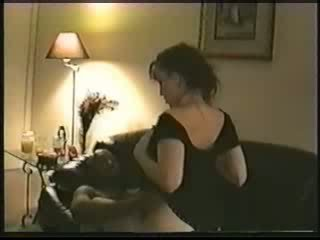 Getrouwd vrouw gets creampied door een zwart vriend