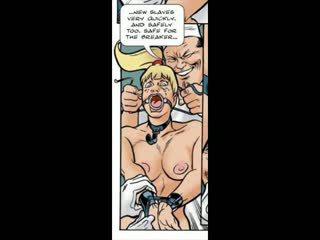 Blonda pacalit în bdsm sex comic