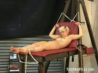 Blonde Cracks Foot Fetish