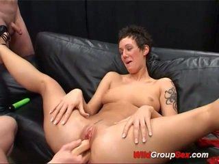 סקס הארדקור, מין קבוצתי, מזיין את הכוס