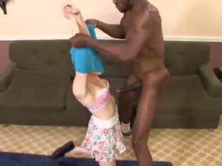 Hung black guys sharing the round assed Caroline