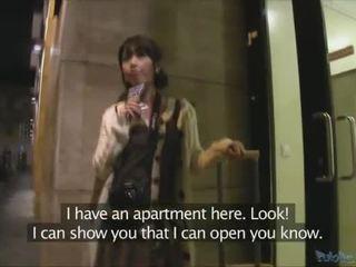 Japoniškas turistas persuaded į turėti seksas