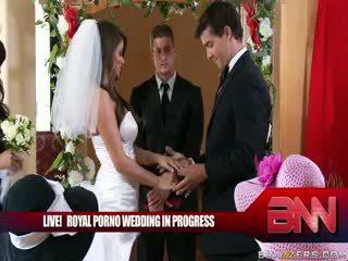 De koninklijk porno huwelijk