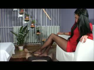 Goddess amy мастурбація ногами - bootjob - мастурбація черевиками