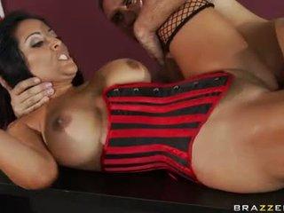 Kiara mia receives pounded upp henne moist rosa taco