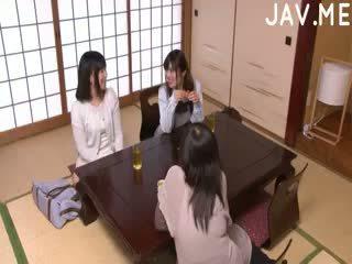 japoński, dziecko, wytryski