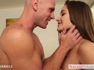 Krūtainas skaistule dani daniels veikt a liels loceklis