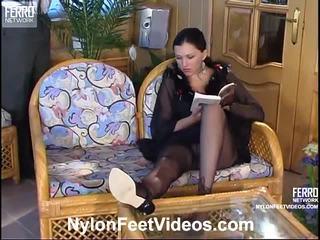 Laura en adam gemeen panty voeten actionion