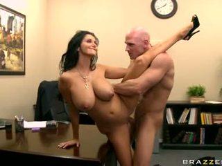 lielas krūtis, birojs, office sex