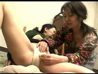 ιαπωνικά, γιαγιά, λεσβία