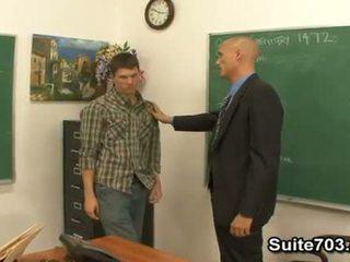 Đồng tính giáo viên troy fucking sinh viên william cứng