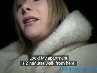 PublicAgent Beautiful Blonde fucks big...