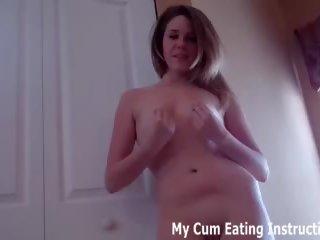 Eten een heet load van sperma voor mij u weinig hoer cei: porno 26