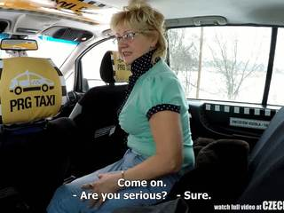 Czech Mature Blonde Hungry for Taxi Drivers Cock: Porn 99