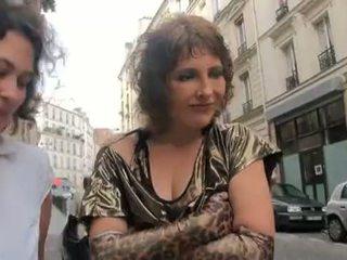 ฝรั่งเศส, milfs, threesome