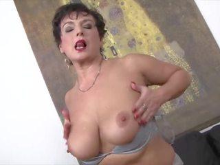 fucking, big boobs, old