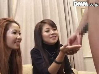 Japanese Amateur Cfnm Two Girls Watch Black Guy Je