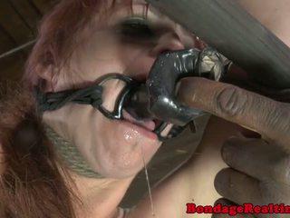 속박, 지배, 사디즘, 마조히즘 sub bella rossi 처벌 와 clamps